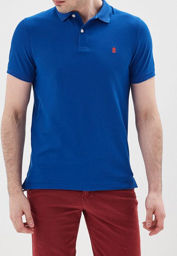 мужское поло izod, синее