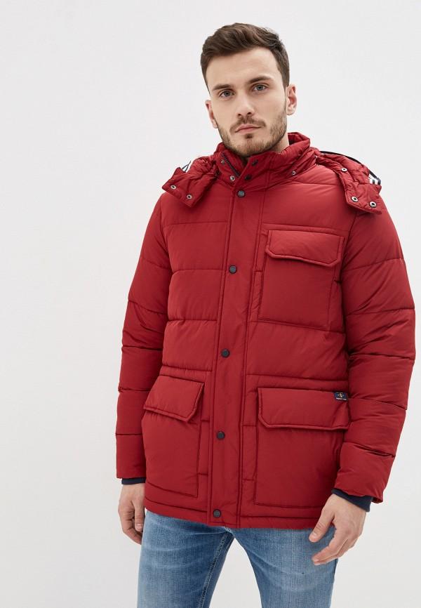 мужская куртка izod, бордовая