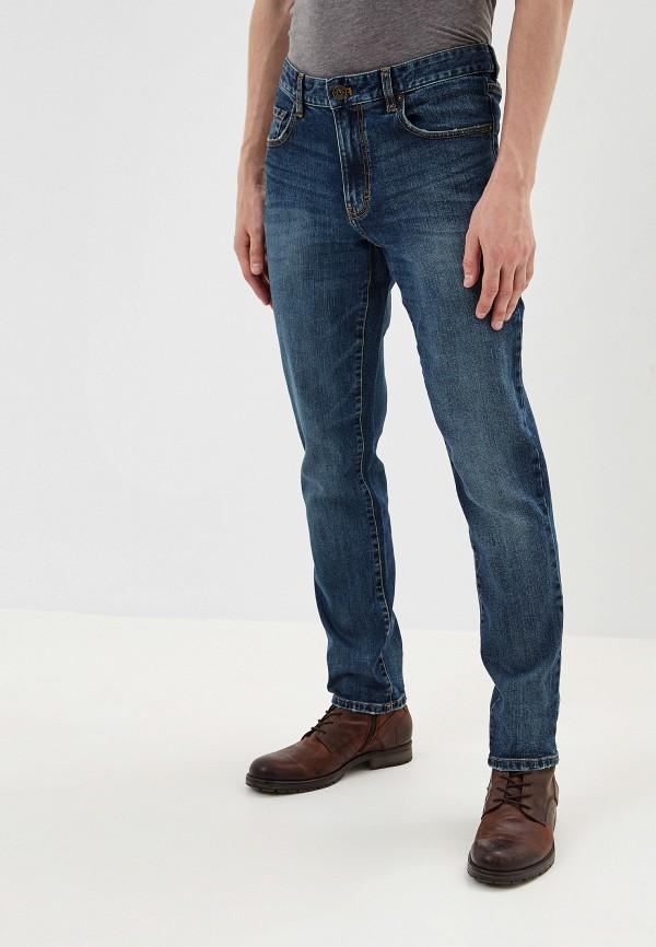 мужские зауженные джинсы izod, синие