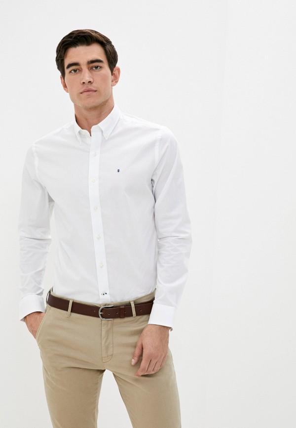 мужская рубашка с длинным рукавом izod, белая