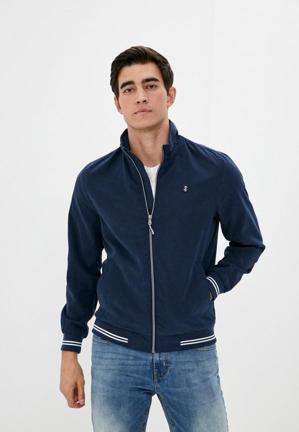 мужская куртка izod, синяя