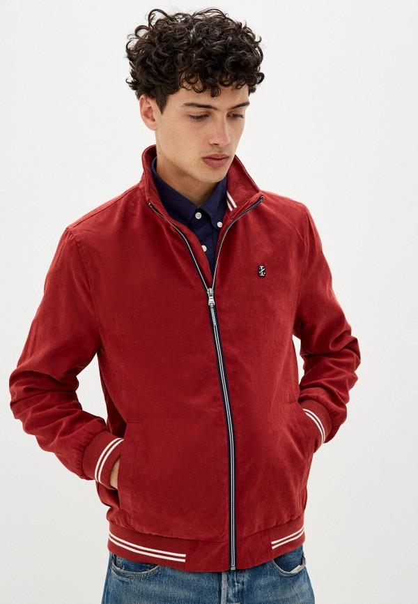 мужская куртка izod, красная