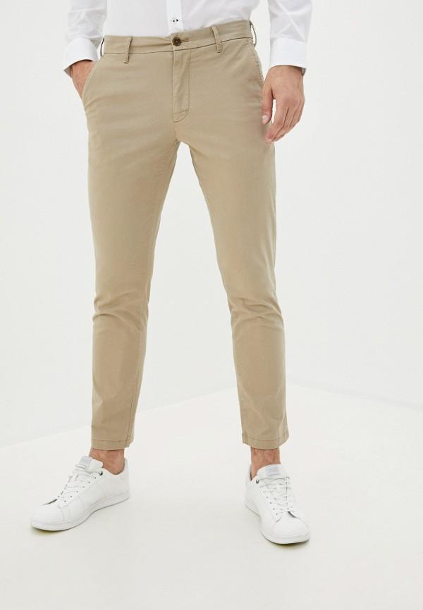 мужские повседневные брюки izod, бежевые