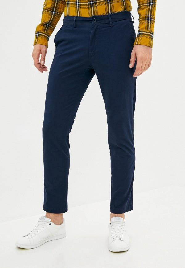 мужские повседневные брюки izod, синие