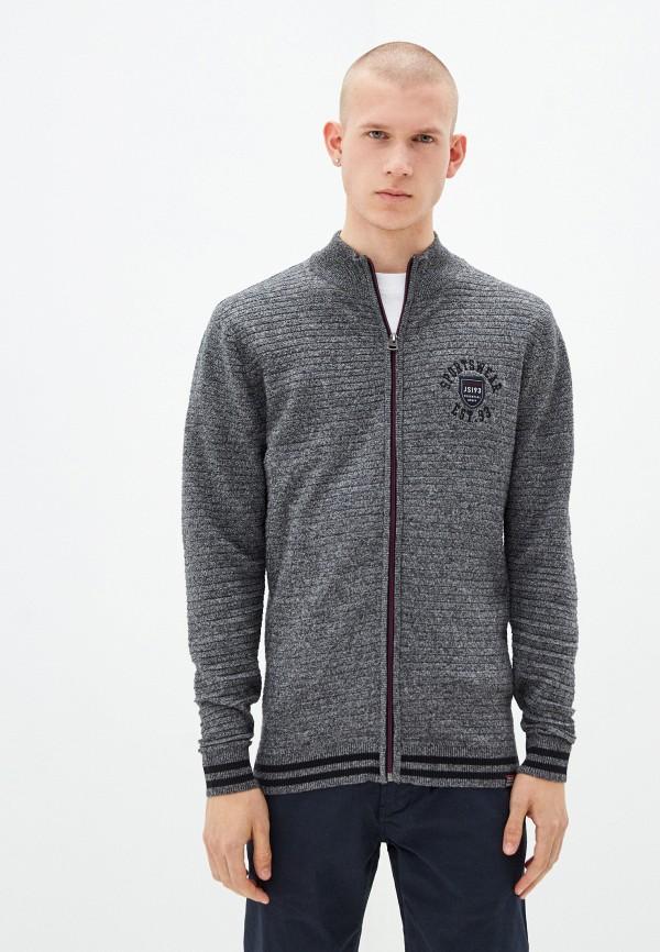 мужской кардиган jack's sportswear intl, серый