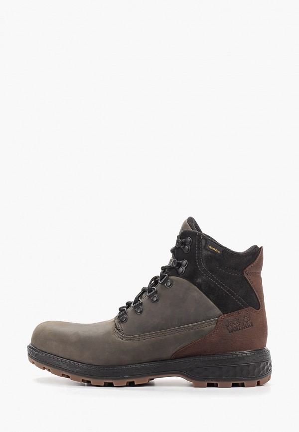 мужские ботинки jack wolfskin, серые