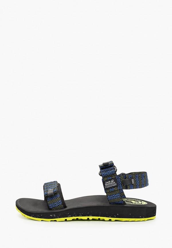 мужские сандалии jack wolfskin, разноцветные