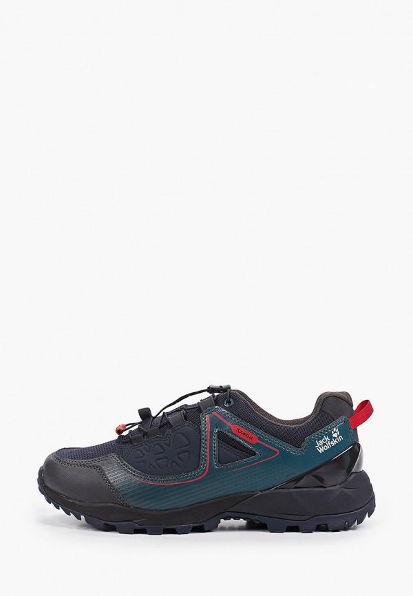 мужские ботинки jack wolfskin, синие