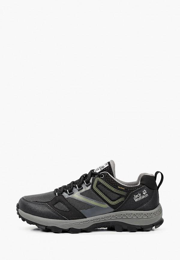 мужские ботинки jack wolfskin, черные