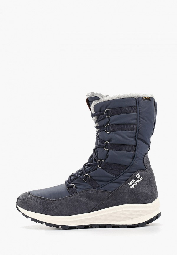 женские ботинки jack wolfskin, синие