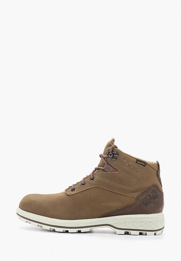женские ботинки jack wolfskin, бежевые