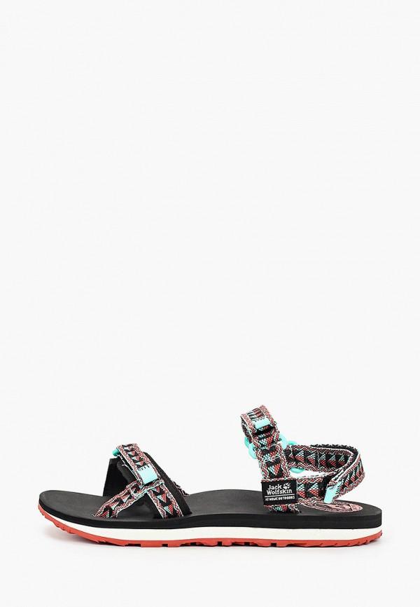женские сандалии jack wolfskin, разноцветные