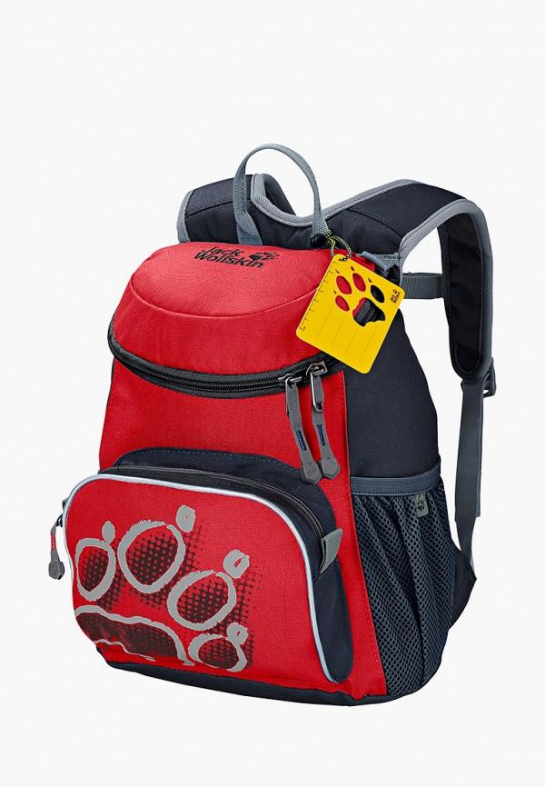рюкзак jack wolfskin для девочки, красный
