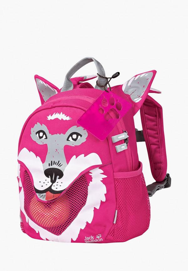 рюкзак jack wolfskin для девочки, розовый