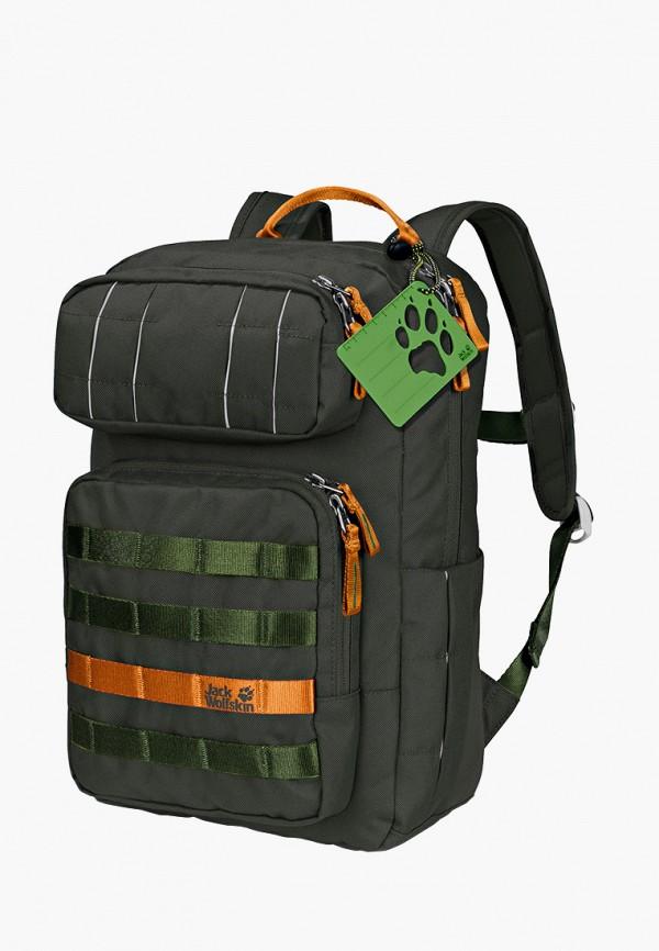 рюкзак jack wolfskin малыши, зеленый