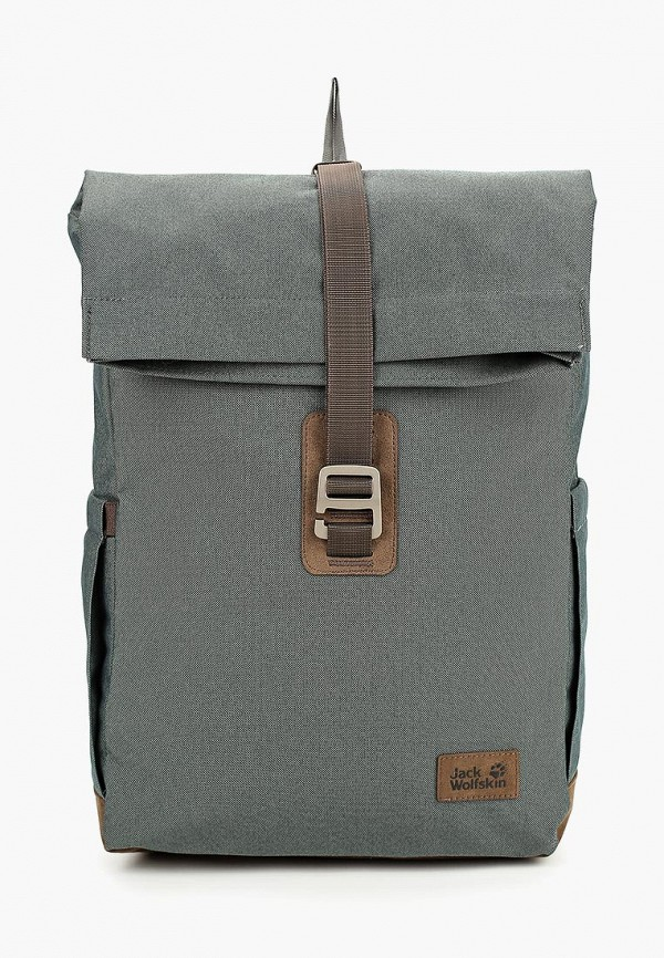 женский рюкзак jack wolfskin, зеленый