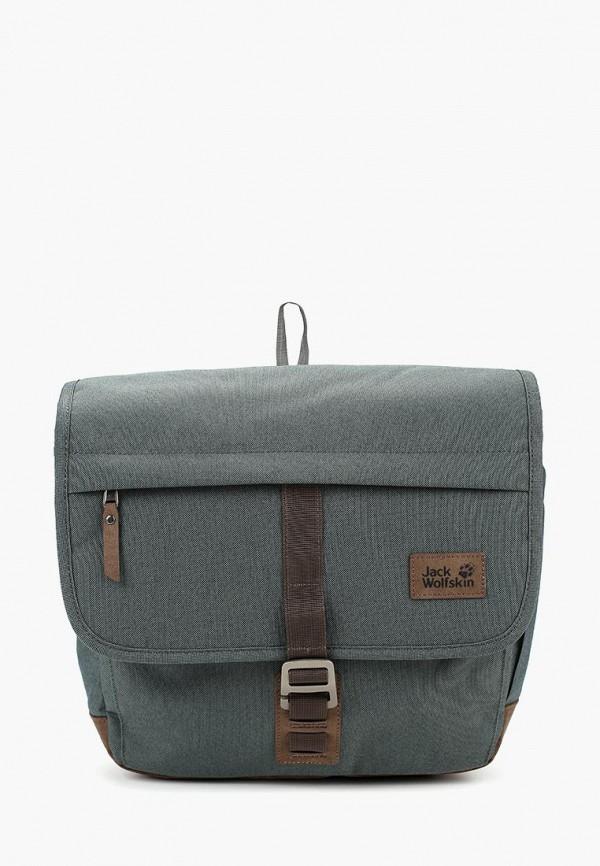 женская сумка jack wolfskin, зеленая