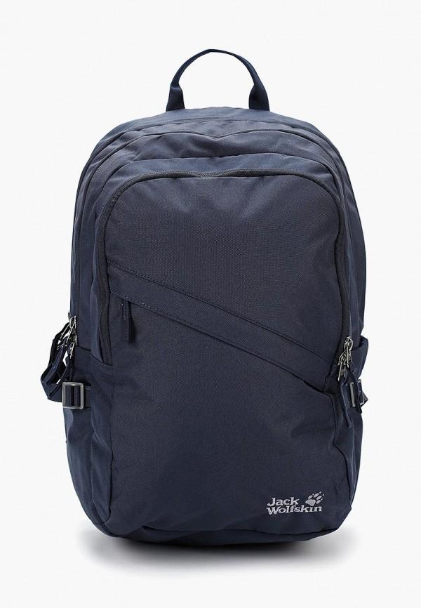 женский рюкзак jack wolfskin, синий