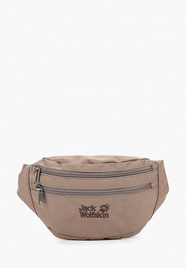 женская сумка jack wolfskin, бежевая