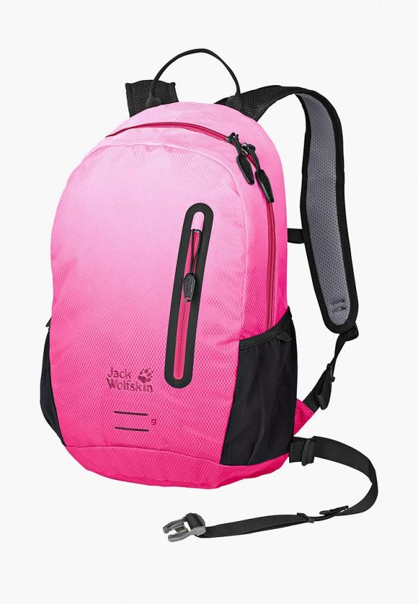 женский рюкзак jack wolfskin, розовый
