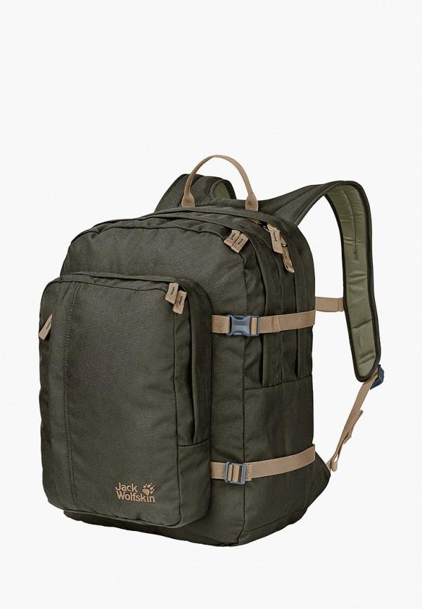 женский рюкзак jack wolfskin, хаки