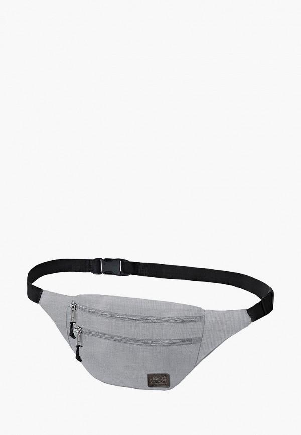 женская сумка jack wolfskin, серая