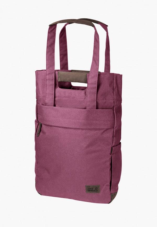 женская сумка jack wolfskin, фиолетовая