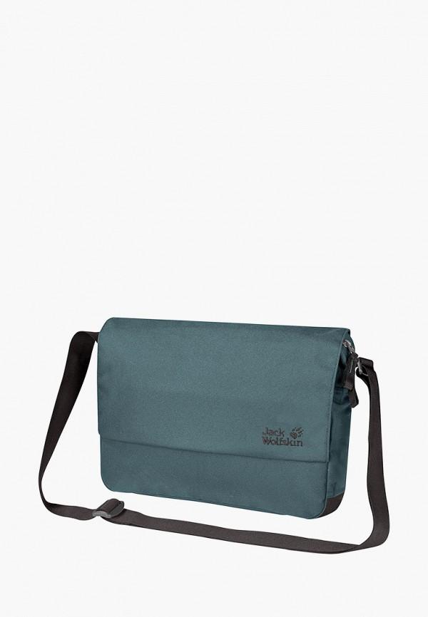 женская сумка jack wolfskin, голубая