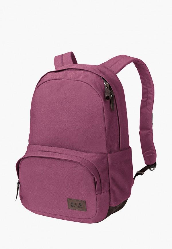 женский рюкзак jack wolfskin, фиолетовый