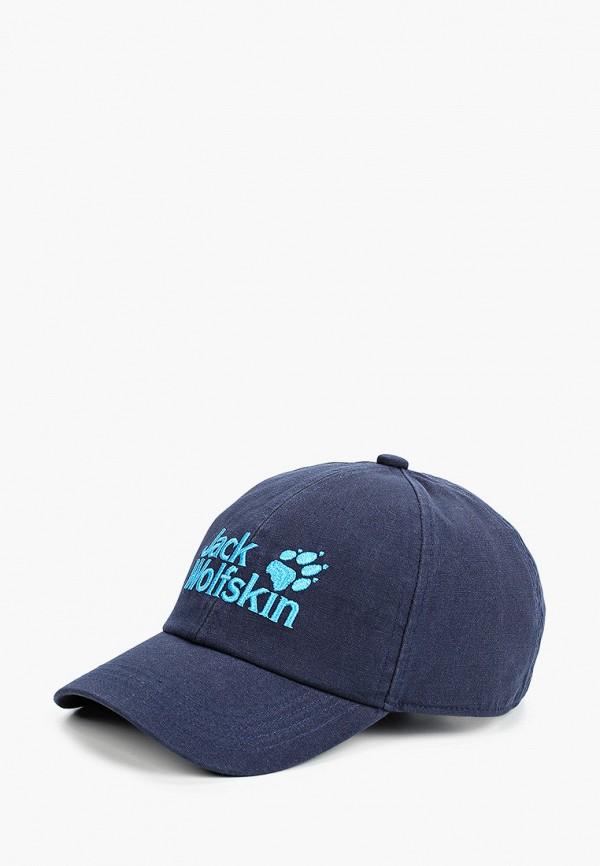 бейсболка jack wolfskin для мальчика, синяя