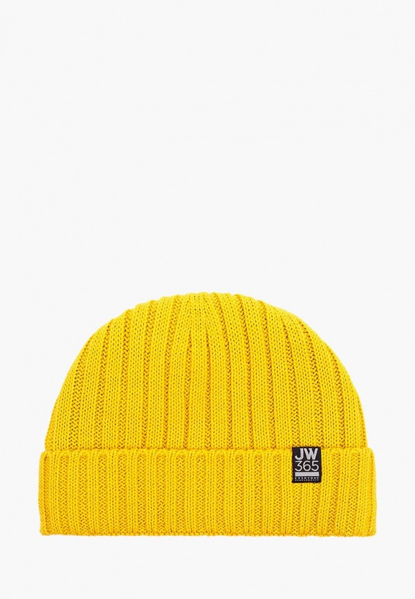 женская шапка jack wolfskin, желтая
