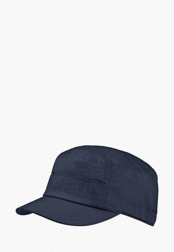 женская кепка jack wolfskin, синяя