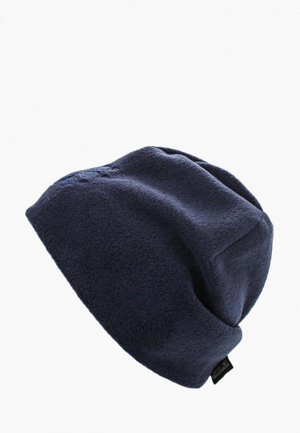 Купить Шапка Jack Wolfskin, PAW HAT, ja021cukhq11, синий, Осень-зима 2018/2019