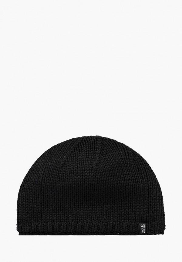 Купить Шапка Jack Wolfskin, STORMLOCK KNIT CAP, ja021cuwha73, черный, Осень-зима 2018/2019