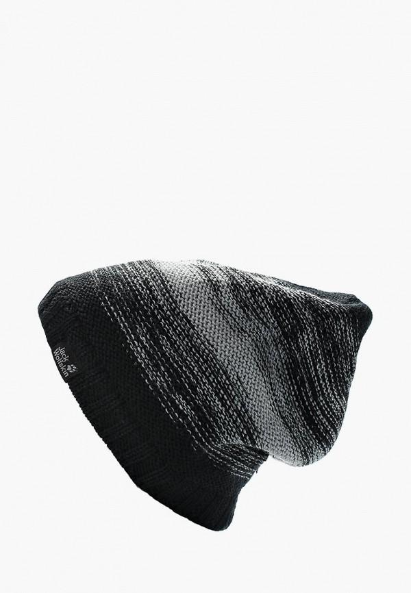 Купить Шапка Jack Wolfskin, COLORFLOAT KNIT CAP, ja021cuwha81, черный, Осень-зима 2018/2019