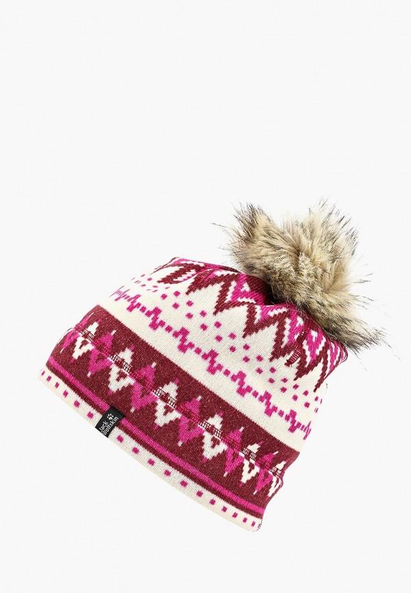 Купить Шапка Jack Wolfskin, SCANDIC CAP WOMEN, JA021CWCOET8, бордовый, Осень-зима 2018/2019