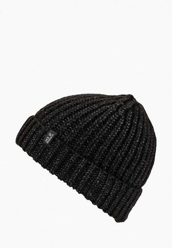 Купить Шапка Jack Wolfskin, WINTERTIDE CAP WOMEN, JA021CWCOFO3, черный, Осень-зима 2018/2019