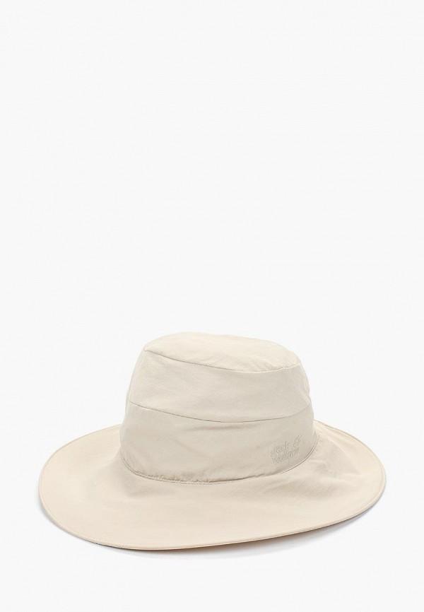 Купить Панама Jack Wolfskin, SUPPLEX ATACAMA HAT WOMEN, ja021cwdzmw4, бежевый, Весна-лето 2019