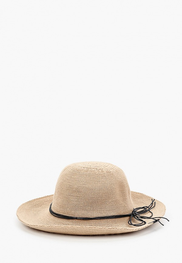 женская шляпа jack wolfskin, коричневая