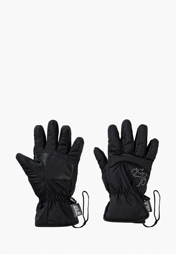 Перчатки Jack Wolfskin Jack Wolfskin 1900164-6000 черный фото