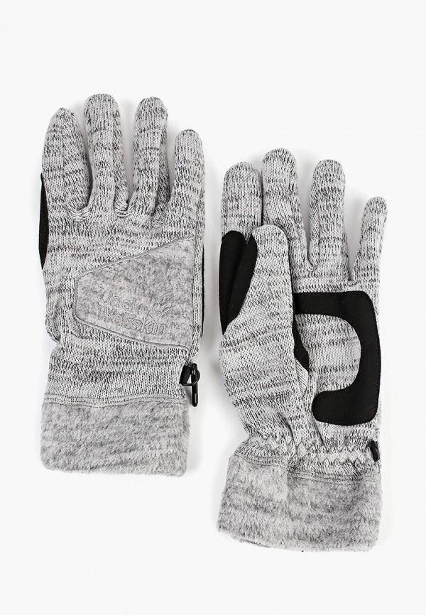 Купить Перчатки Jack Wolfskin, AQUILA GLOVE MEN, ja021ducoeo0, серый, Осень-зима 2018/2019
