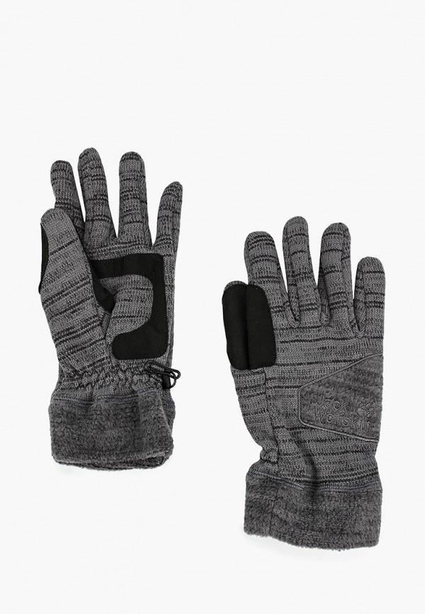 Купить Перчатки Jack Wolfskin, AQUILA GLOVE MEN, ja021ducoeo1, серый, Осень-зима 2018/2019