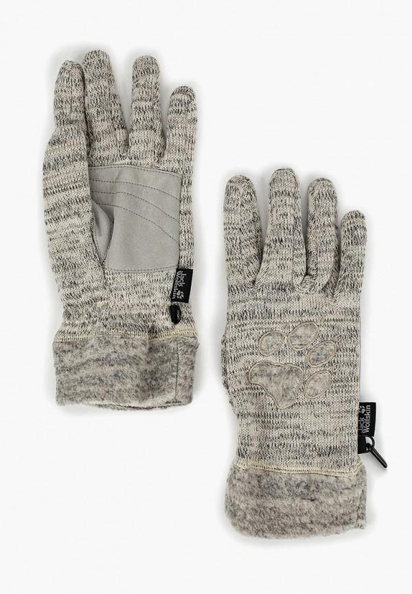 Купить Перчатки Jack Wolfskin, AQUILA GLOVE WOMEN, JA021DWCOET0, бежевый, Осень-зима 2018/2019