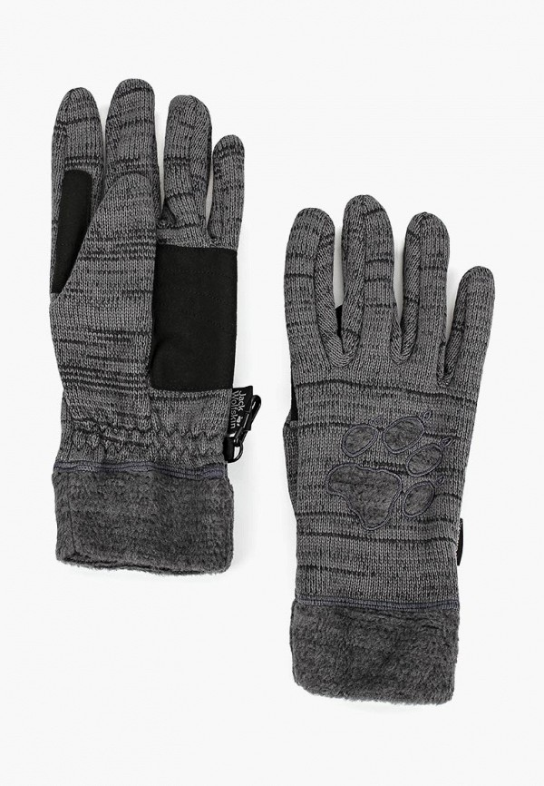 Купить Перчатки Jack Wolfskin, AQUILA GLOVE WOMEN, JA021DWCOET1, серый, Осень-зима 2018/2019