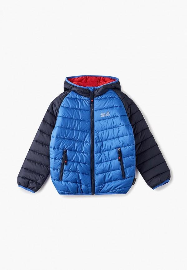 Купить Куртка утепленная Jack Wolfskin, K ZENON JKT, ja021ebcoem0, синий, Осень-зима 2018/2019