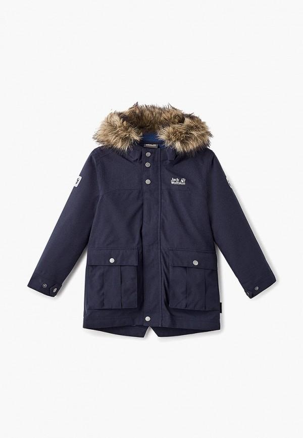 Купить Парка Jack Wolfskin, B ELK ISLAND 3IN1 PARKA, ja021ebcoem5, синий, Осень-зима 2018/2019