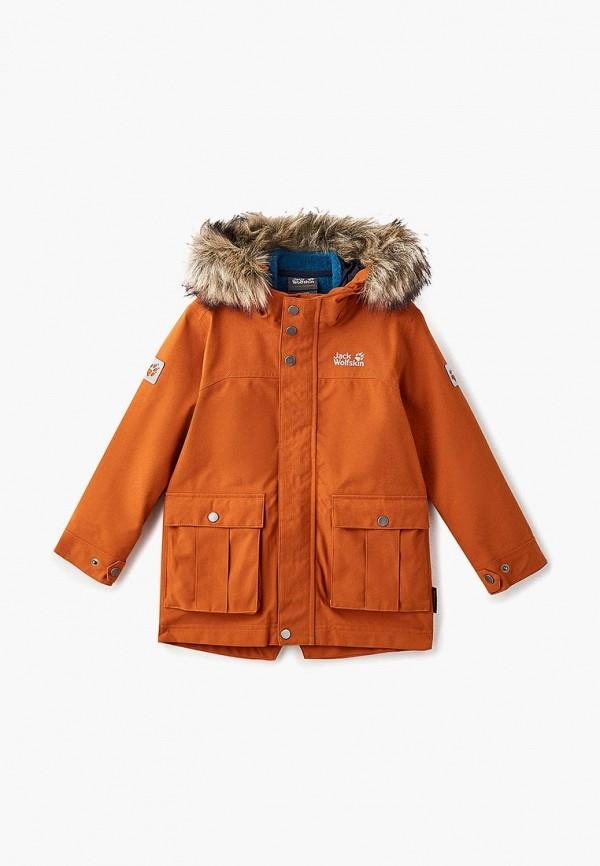 Купить Парка Jack Wolfskin, B ELK ISLAND 3IN1 PARKA, ja021ebcoem6, оранжевый, Осень-зима 2018/2019