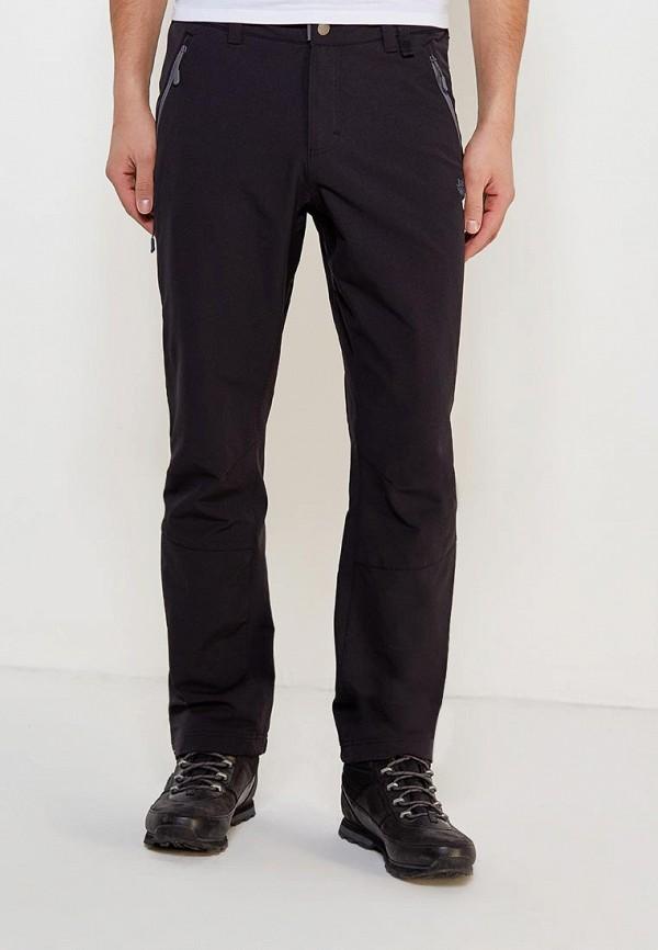мужские спортивные брюки jack wolfskin, черные
