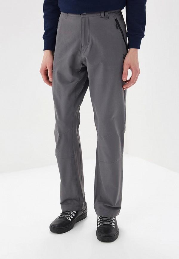 мужские прямые брюки jack wolfskin, серые