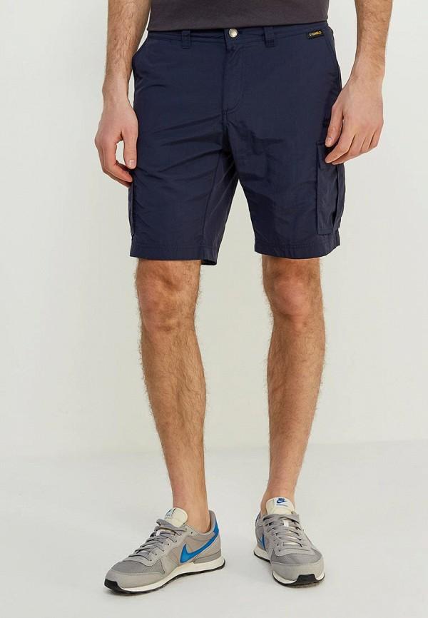 мужские шорты jack wolfskin, синие
